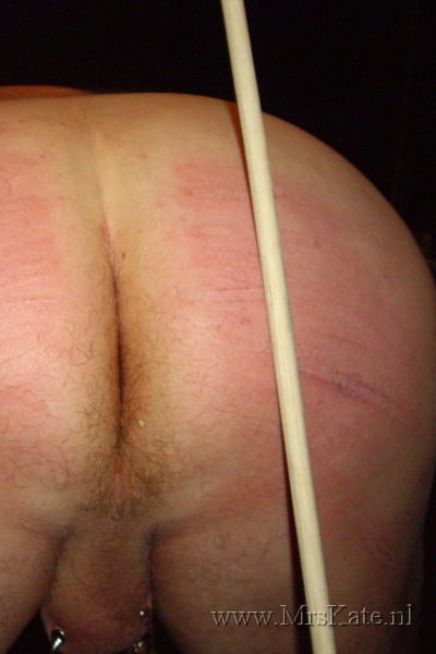 Caning by Mrs Kate SM studio House of SubMission The Hague